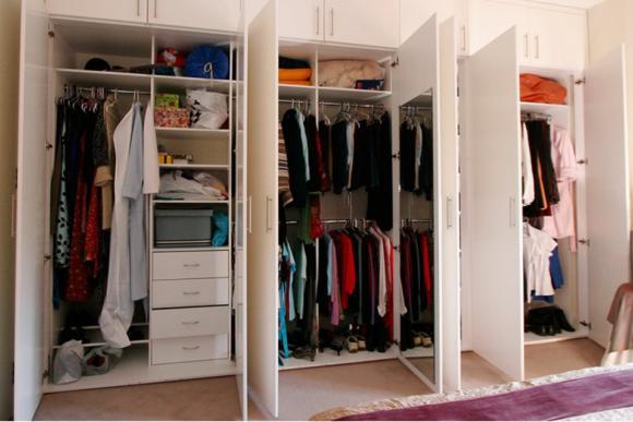 Hinged Door wardrobe Interior