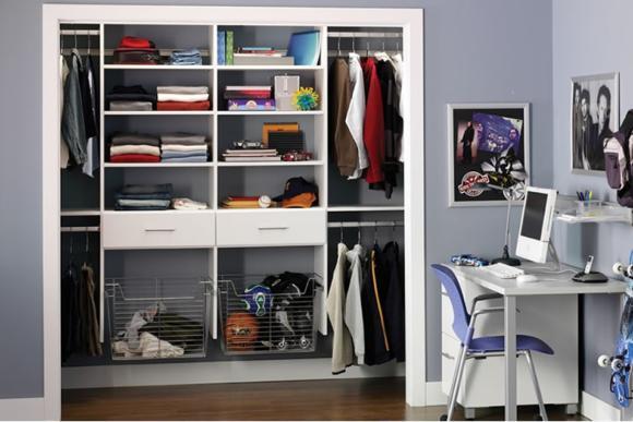 Open Style Wardrobe Interior