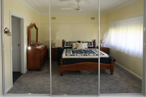 Sliding Mirror Doors